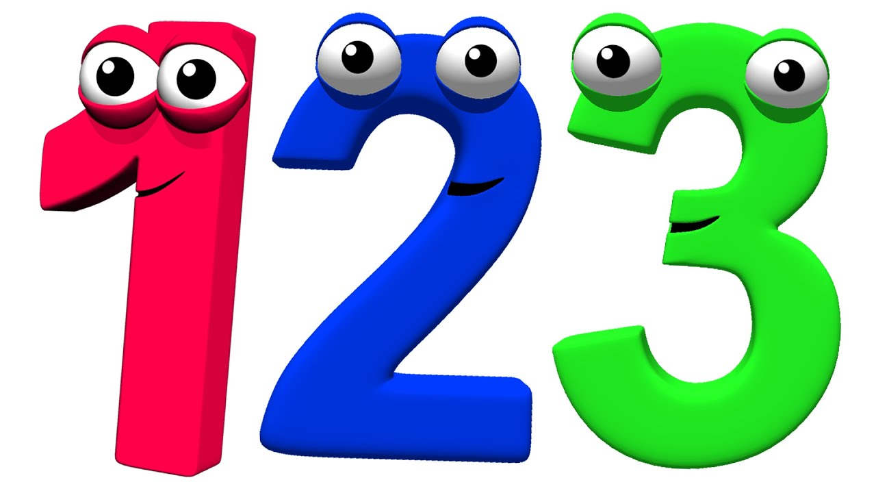 Five Little Animals + More   Counting 123, Learn to Count, Numbers Songs, ABCs Busy Beavers