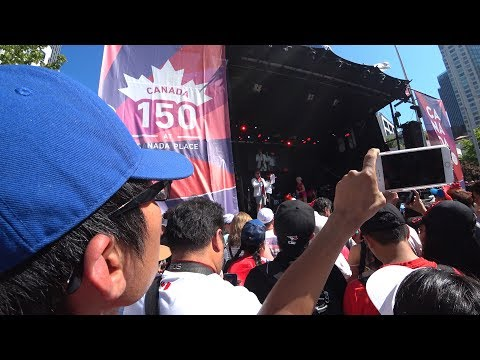 Canada Day 2017 Vancouver Day Vlog Including Drone Flying Jackie Chan Appearance And Fireworks