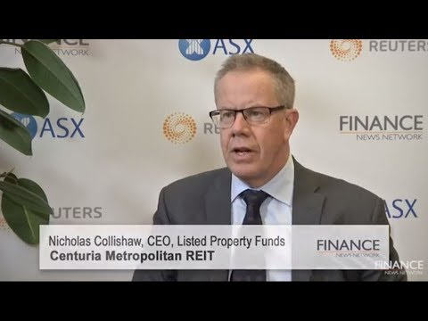 Centuria Listed Property CEO Nicholas Collishaw discusses financials and new acquisitions