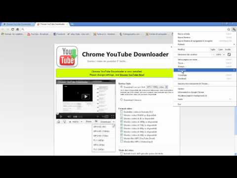 come scaricare musica da youtube con:chrome youtube downloader