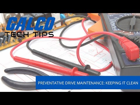 How to maintain a VFD: Keeping it clean - A Galco TV Tech Tip