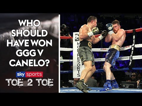 Gennady Golovkin vs Canelo Alvarez fight review! Who SHOULD have won? | Toe 2 Toe