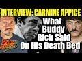 Capture de la vidéo What Buddy Rich Told Carmine Appice On His Death Bed