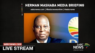 Herman Mashaba press briefing : 21 October 2019