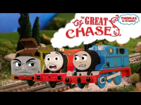 The Great Chase + Flashback Trailer! | Thomas Creator Collective | Thomas & Friends
