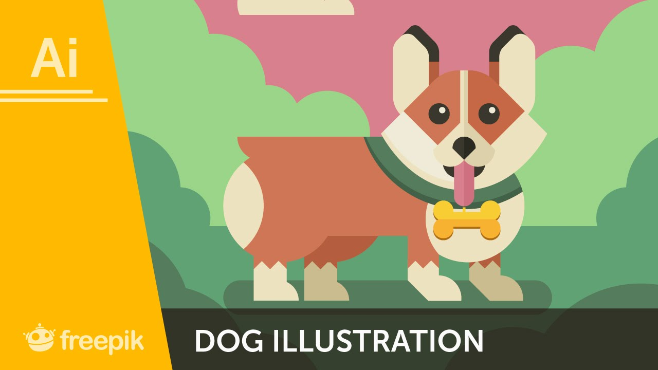 How to create a dog illustration in adobe illustrator diego how to create a dog illustration in adobe illustrator diego barrionuevo freepik ccuart Images