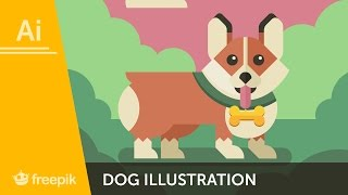 How to create a Dog Illustration in Adobe Illustrator - Diego Barrionuevo | Freepik