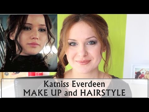 Katniss Everdeen Mockingjay Make Up And Hairstyle Hunger Games