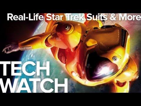 Electronic Tattoos, Real Life Star Trek Suits, Creepy Japanese Robots - TechWatch