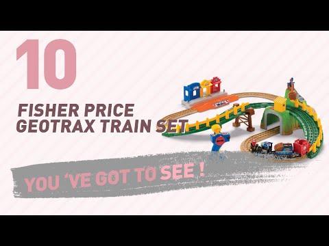 Fisher Price Geotrax Train Set // New & Popular 2017