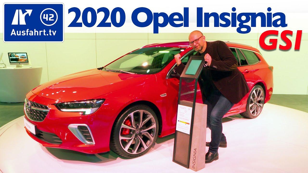 2020 Opel Insignia Gsi Facelift Weltpremiere Debut Sitzprobe Kein Test Youtube