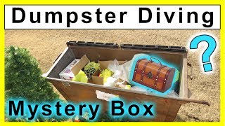 Found Antique Mystery Box Dumpster Diving #238