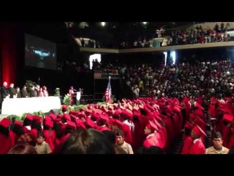 Taylor high school graduation day - YouTube