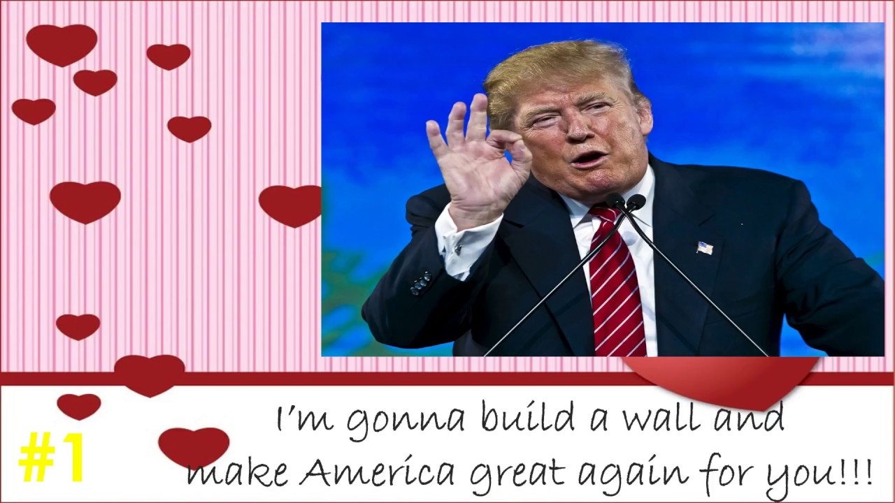 Top 10 Donald Trump Valentine Cards Youtube