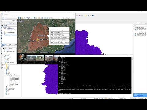 PostGIS - ogr2ogr exe - Export PostGIS table to GML, KML - YouTube