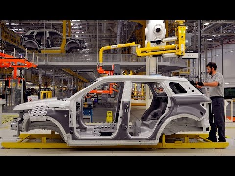 Jaguar Land Rover Factory in Rio de Janeiro, Brazil