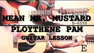 Mean Mr. Mustard/Polythene Pam - Guitar Lesson
