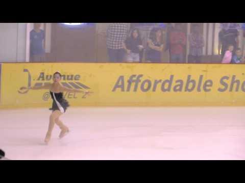 2017 Singapore Inter-School Figure Skating Competition : Kelly Anne Kok by eMageMagik.com
