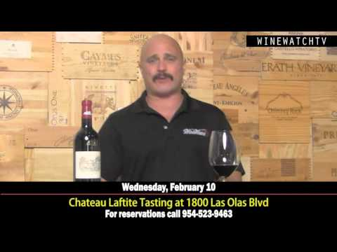 Chateau Lafite Rothschild Tasting at 1800 Las Olas - click image for video