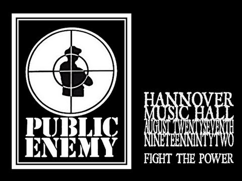 Public Enemy - Fight The Power (Hannover 1992)
