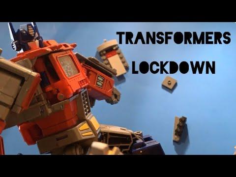 Transformers Lockdown Stop Motion