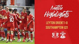 Лейтон Ориент  1-0  Саутгемптон U21 видео