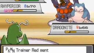 Pokemon Heart Gold & Soul Silver: VS Red & Blue Battle