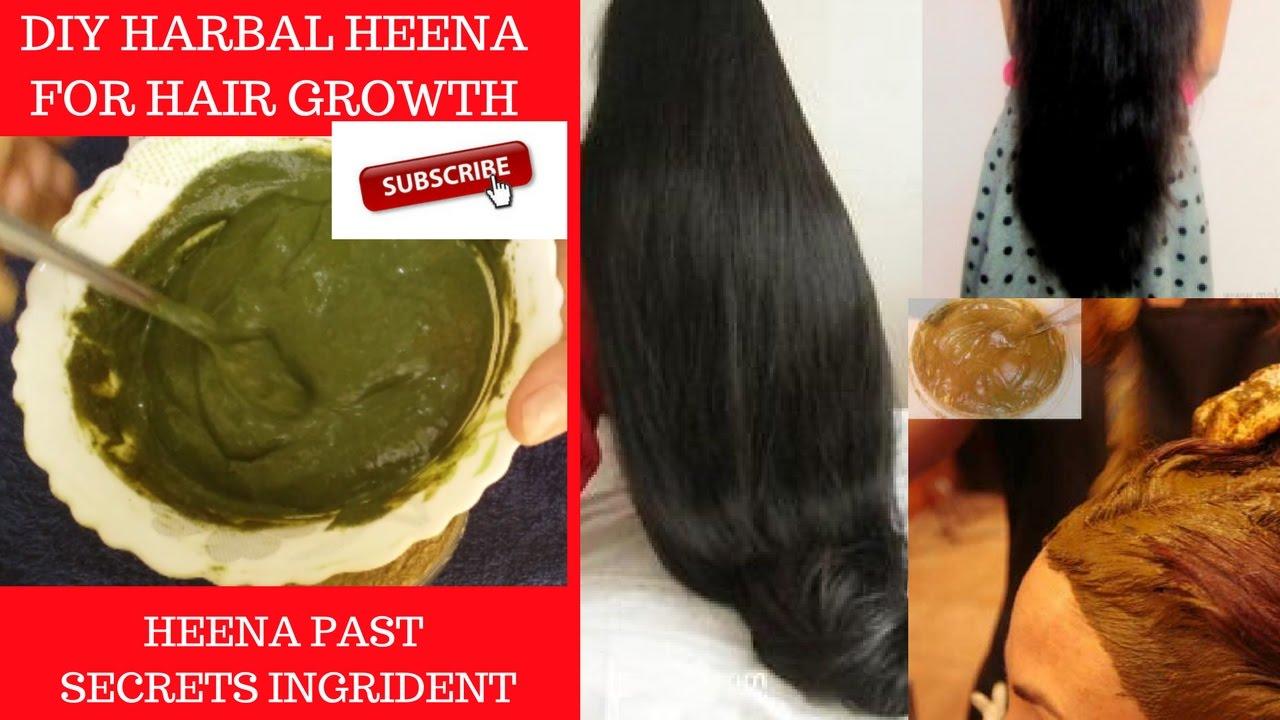 Diy Henna Pack Herbal Hair Pack Get Healthy Long Hair Naturally 7