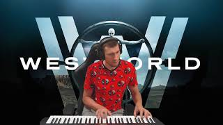 Мир Дикого запада - Westworld piano cover by HappyZerG