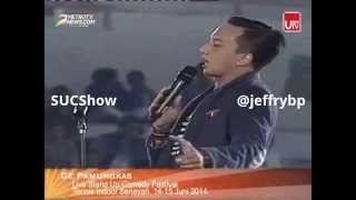 Ge Pamungkas Stand Up Comedy Festival Indonesia 2014