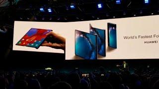Mwc 2019, il momento in cui Huawei ha svelato il pieghevole Mate X