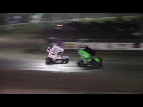 Dacotah Speedway Sprint Car A-Main (Governor's Cup Night #2) (7/30/16)