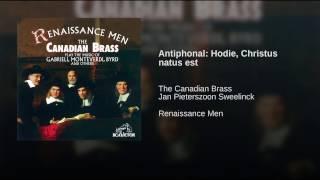 Antiphonal: Hodie, Christus natus est
