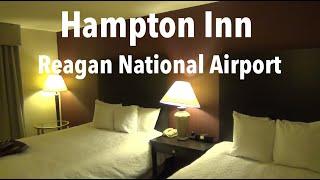 Hotel Room Tour - Hampton Inn Reagan National Airport, Crystal City (Arlington VA)