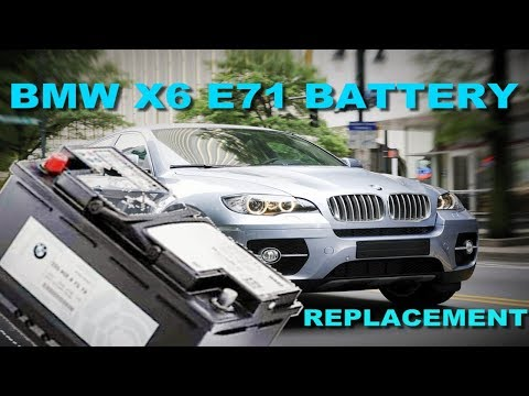how-to-replace-the-battery-on-a-2008-2014-bmw-x6-xdrive35i-x5-e71-e70