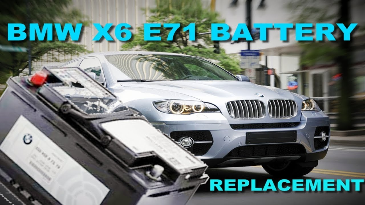 How To Replace The Battery On A 2008 2014 Bmw X6 Xdrive35i