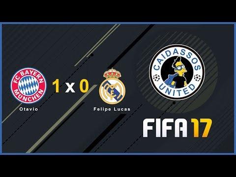FIFA 17 - Copa Dog Bote - Bayern München (otaviorocha11) 1 x 0 Real Madrid (felipelucas)