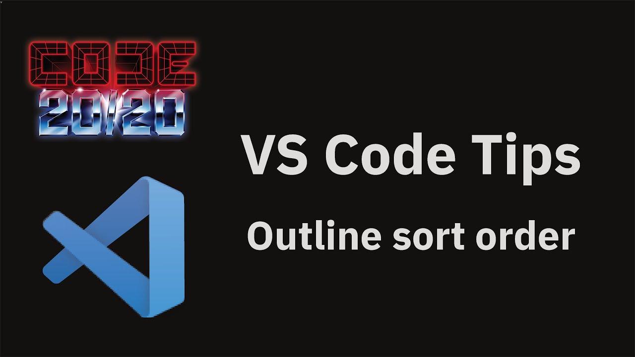 Outline sort order