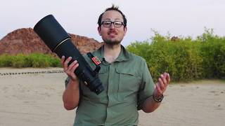 Nikon 500mm F4E REVIEW - Super Tele Lens FIELD TESTED in Namibia