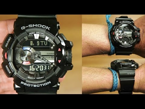 the latest e7dc9 bfae8 Casio G-shock G'MIX GBA-400-1A ( BLUETOOTH ) - UNBOXING
