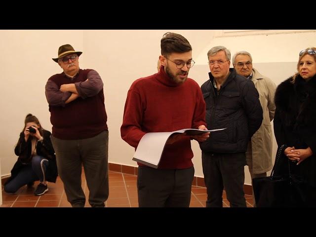 ALESSANDRO DEL GAUDIO - MOSTRA D'ARTE CHIOSTO SANT AGOSTINO CASERTA