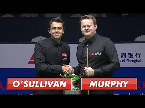 O'Sullivan vs Murphy   Shanghai Snooker 2019 Full Final S1   50 fps