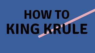 how to king krule