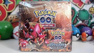 Opening A Pokemon GO Booster Box