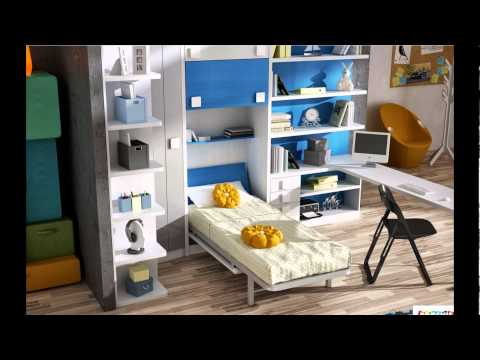muebles juveniles abatibles. ideas para decorar. donde ...