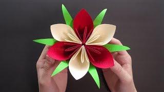 Basteln mit Kindern: Blumen basteln - Einfache Bastelideen - DIY Geschenke