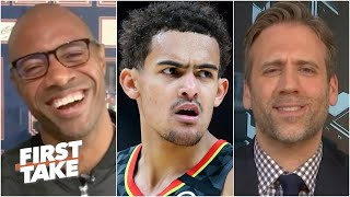 First Take producers get called out by Max, Jay and Domonique for Trae Young debate