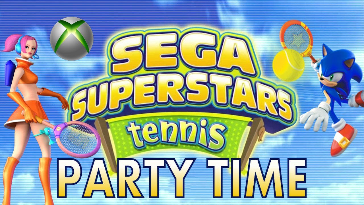 'Party Time' Achievement - SEGA Superstars Tennis (Xbox 360) - YouTube
