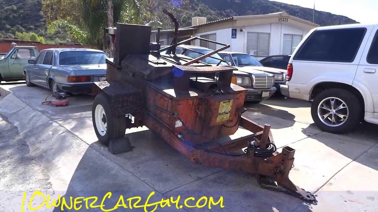Speed King Tar Kettle Tar Pot Construction Equipment For