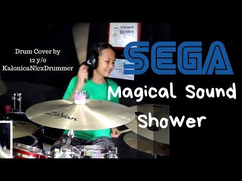 Magical Sound Shower ( SEGA Arcade Game Outrun ) Drum Cover by 12 yo Kalonica Nicx